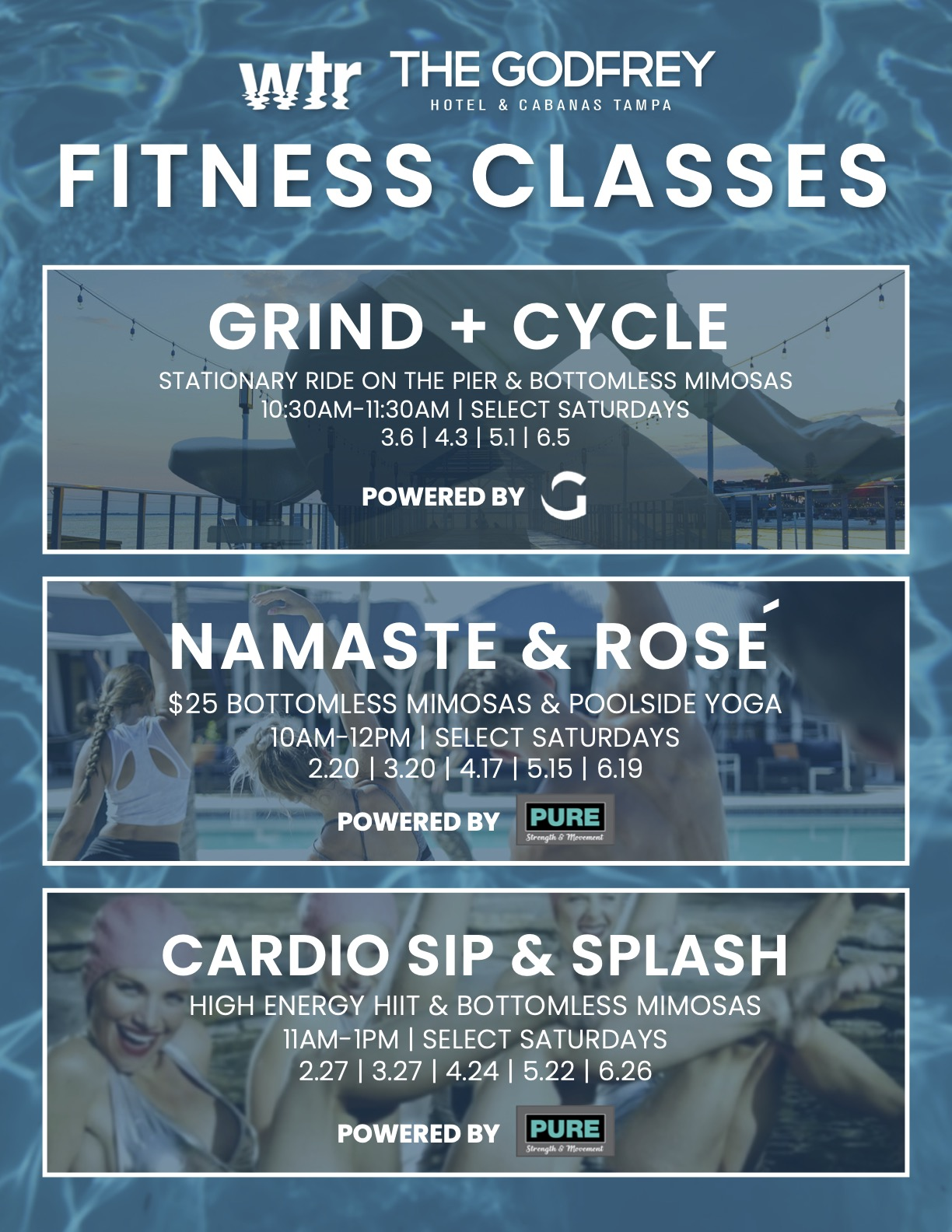 Godfrey Fitness Classes 2021